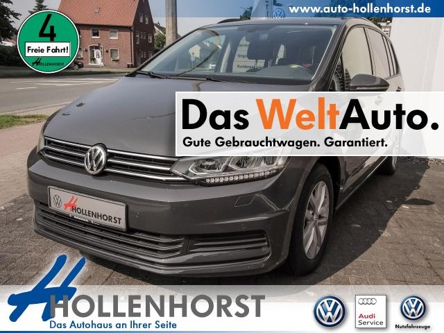 Volkswagen Touran 1.6 BMT TDI Comfortline NAVI DSG SSD LED, Jahr 2017, Diesel