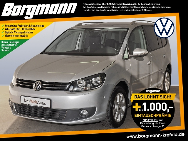 Volkswagen Touran 1.2TSI 'Life',Navi,PDC,Sitzhzg., Jahr 2013, Benzin