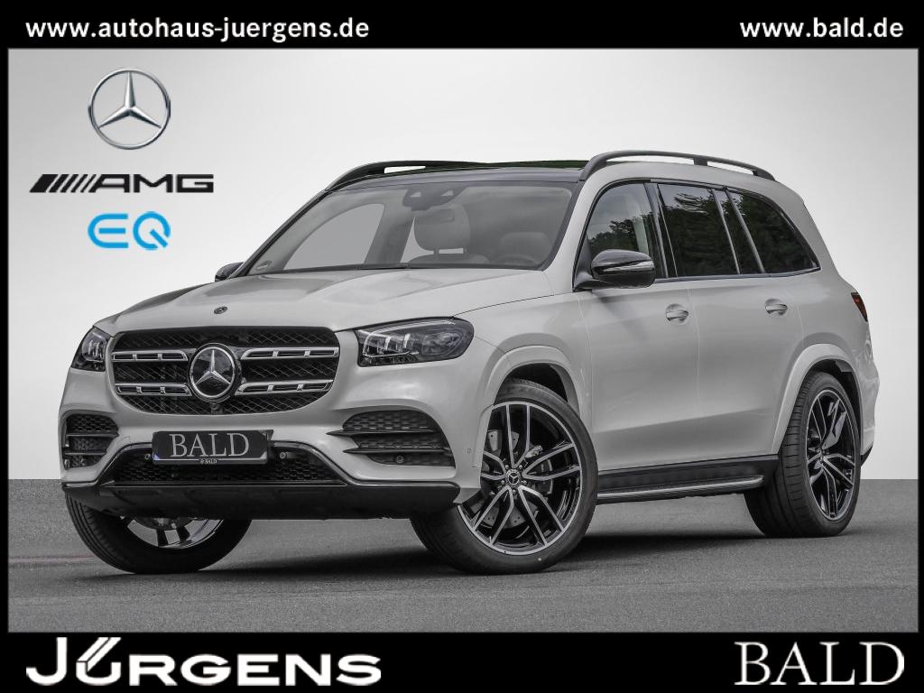 Mercedes-Benz GLS 580 4M AMG+23''+voll+weiß/beige+SHZ+FondE+PS, Jahr 2021, Benzin