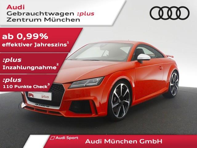 "Audi TT RS Coupé 2.5 TFSI qu. S tronic 20""Zoll/Navi+/Leder, Jahr 2018, petrol"