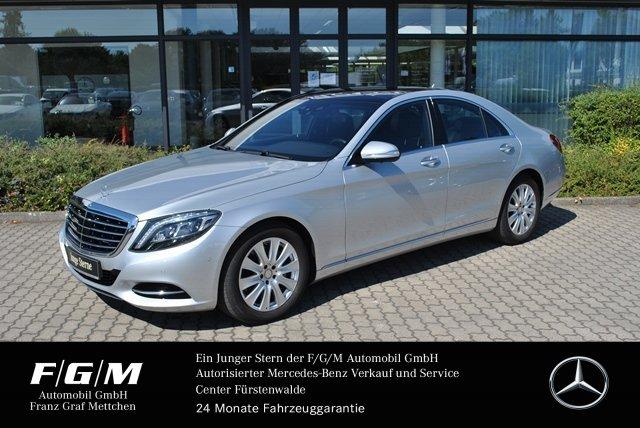 """Mercedes-Benz S 350 BT COM/Distr/360°/KeyGo/PanoD/Airm/ILS/18"""", Jahr 2015, diesel"""