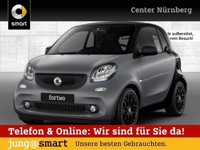 smart fortwo coupé 52kW prime DCT cool&Audio SHZ Pano, Jahr 2018, Benzin
