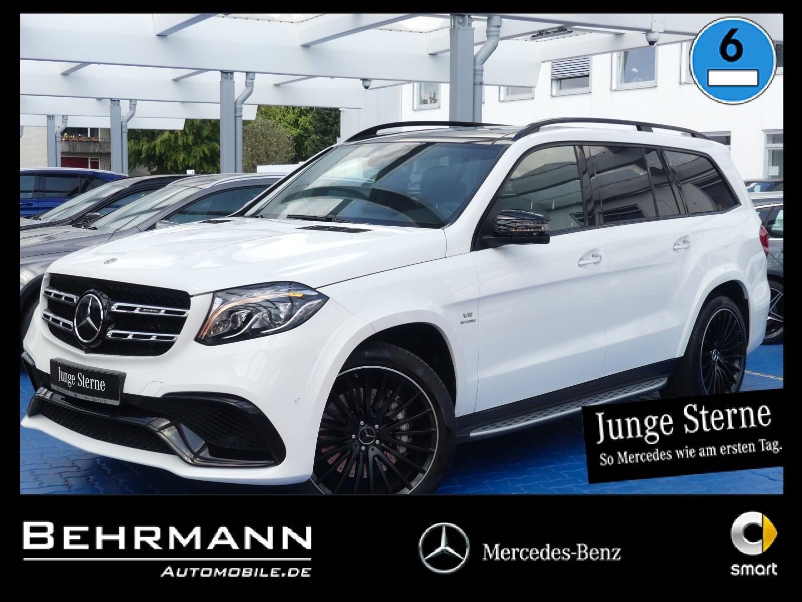 Mercedes-Benz GLS 63 AMG 4M ++Distronic+Panorama+TV+Airmatic++, Jahr 2017, petrol
