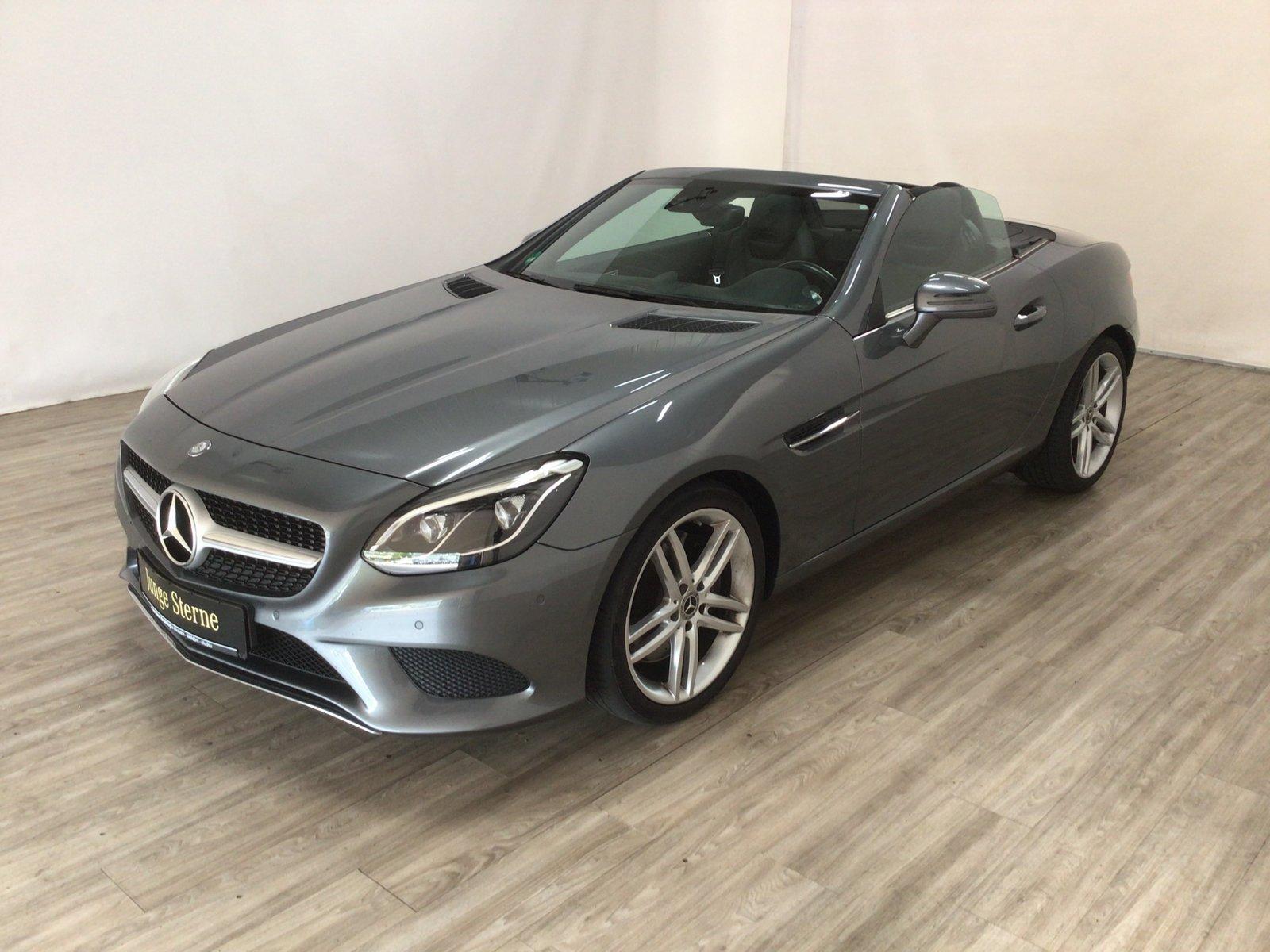 Mercedes-Benz SLC 200 Sport-Paket Navi*Kamera*ILS*THERMOTRONIC, Jahr 2017, Benzin