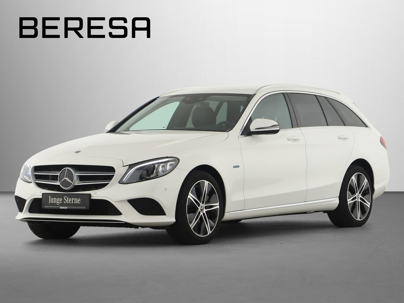 Mercedes-Benz C 300 de T Avantgarde Spur-P. LED AHK Kamera, Jahr 2020, Hybrid_Diesel