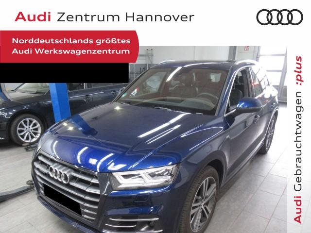 Audi Q5 55 TFSI e qu. S-line, Pano, virtual, AHK, LED, Jahr 2020, Hybrid