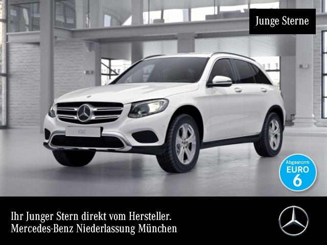 Mercedes-Benz GLC 250 4M Exclusive Fahrass Distr. COMAND HUD AHK, Jahr 2017, Benzin