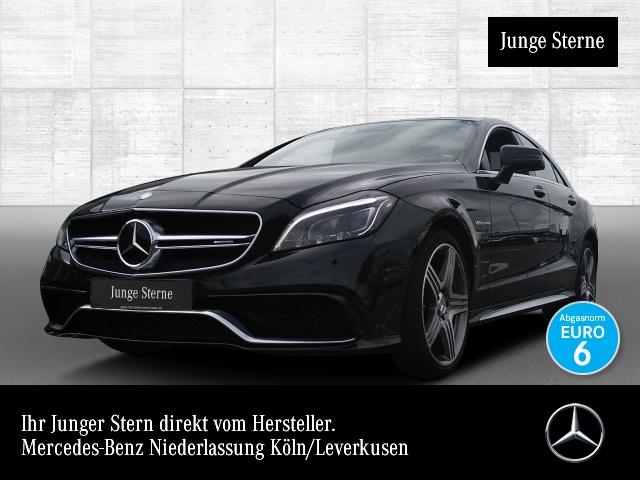 Mercedes-Benz CLS 63 AMG S Cp. 4M Burmester 3D Driversp 360°, Jahr 2016, petrol