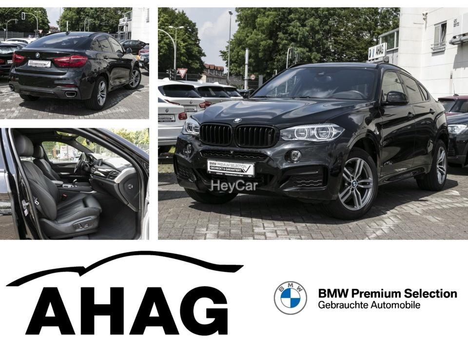 BMW X6 xDrive30d M Sportpaket HUD AHK Glasdach, Jahr 2018, Diesel