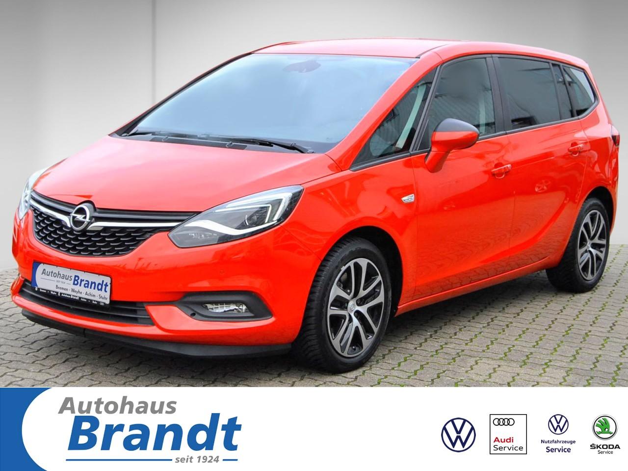 Opel Zafira 1.6 SIDI Turbo Edition Automatik AHK*LED, Jahr 2018, Benzin
