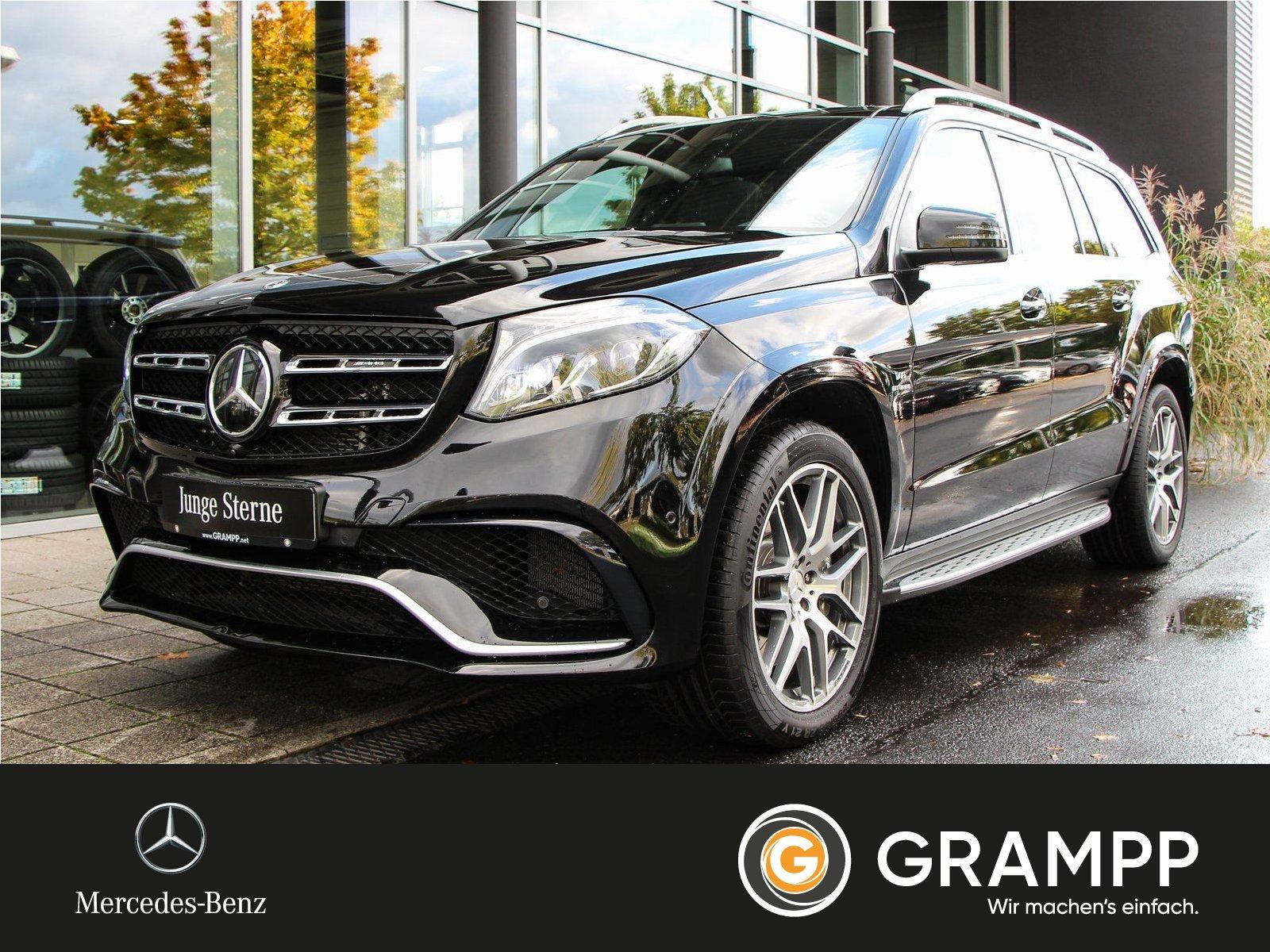 Mercedes-Benz GLS 63 AMG 4M Fahr-Paket/AHK/Panorama/Sitzklima, Jahr 2019, Benzin