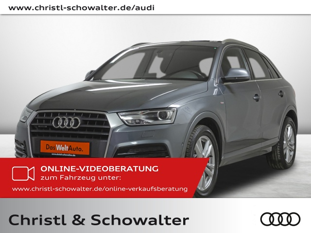 Audi Q3 S line sport 2.0 TDI quattro S tronic BOSE Navi, Jahr 2017, Diesel