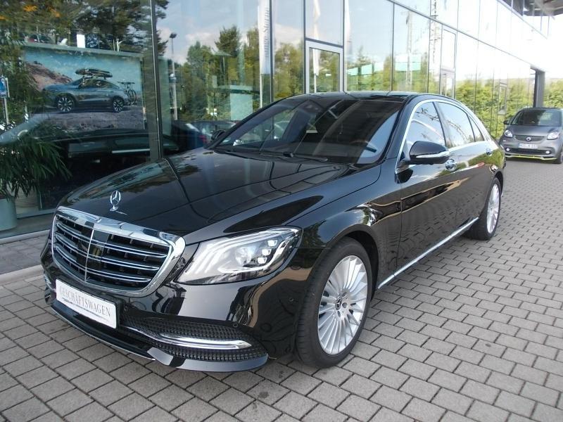 Mercedes-Benz S 560 4M Lang Pano*Standh*Nachtsichtass.*Head-up, Jahr 2017, Benzin