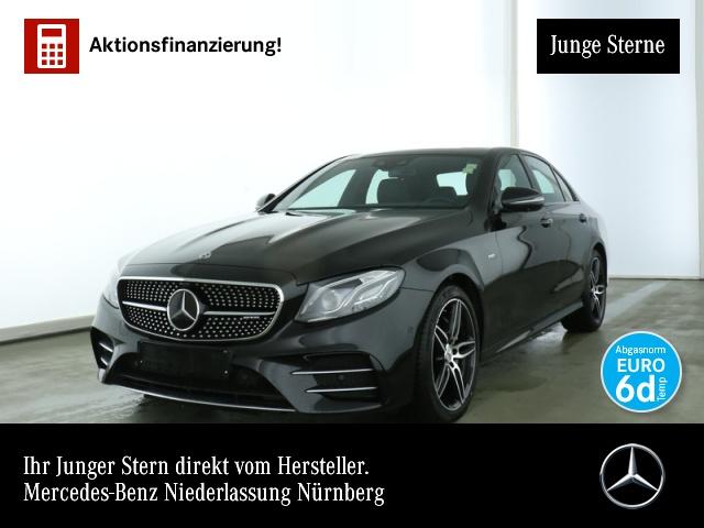 Mercedes-Benz E 53 AMG 4M + Fahrass.PanoD.Carbon.Wide.360°, Jahr 2019, petrol