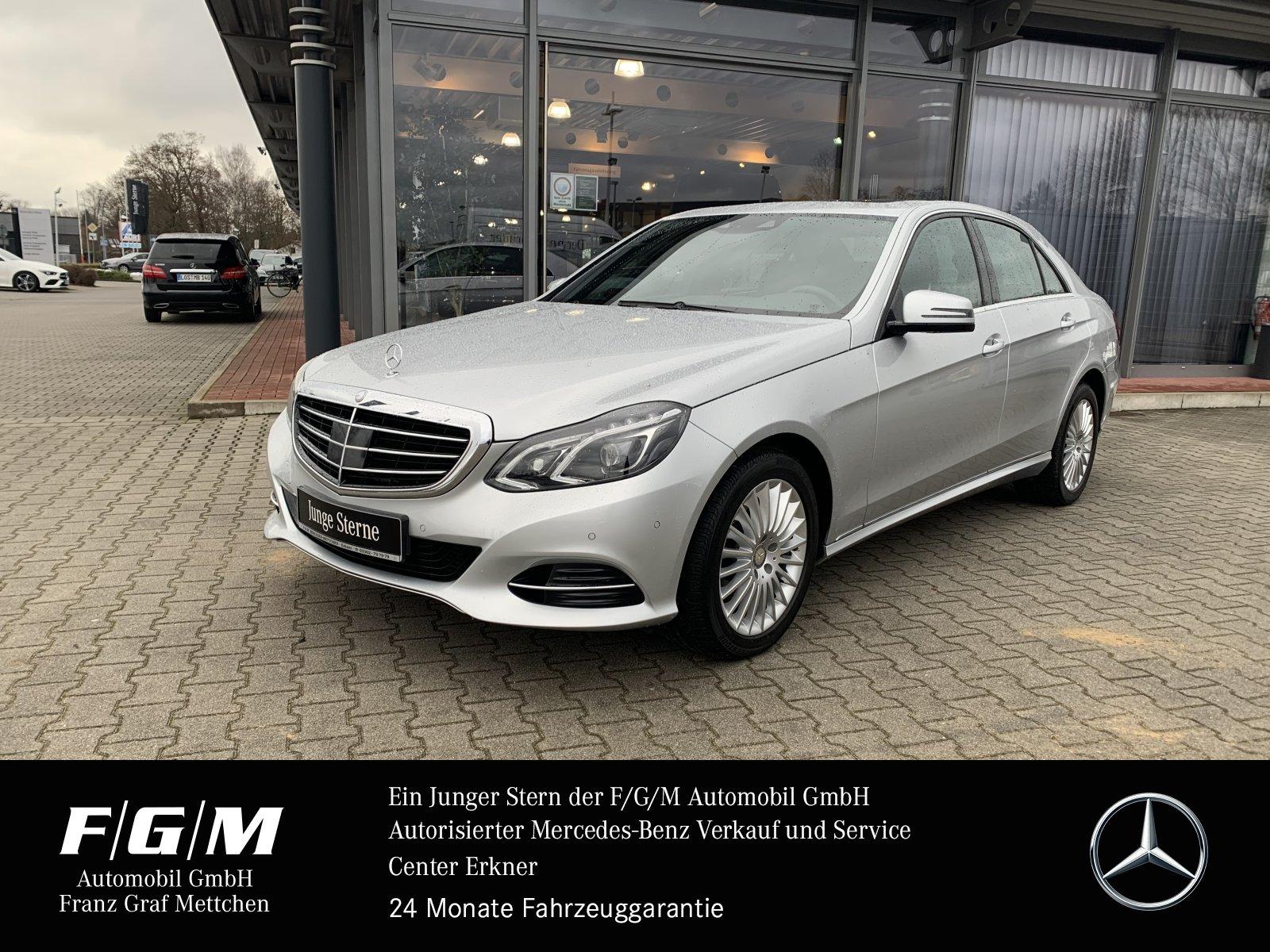 Mercedes-Benz E 200 Elegance/Navi/SHD/Distr/LED-ILS/Parktronic, Jahr 2013, Benzin