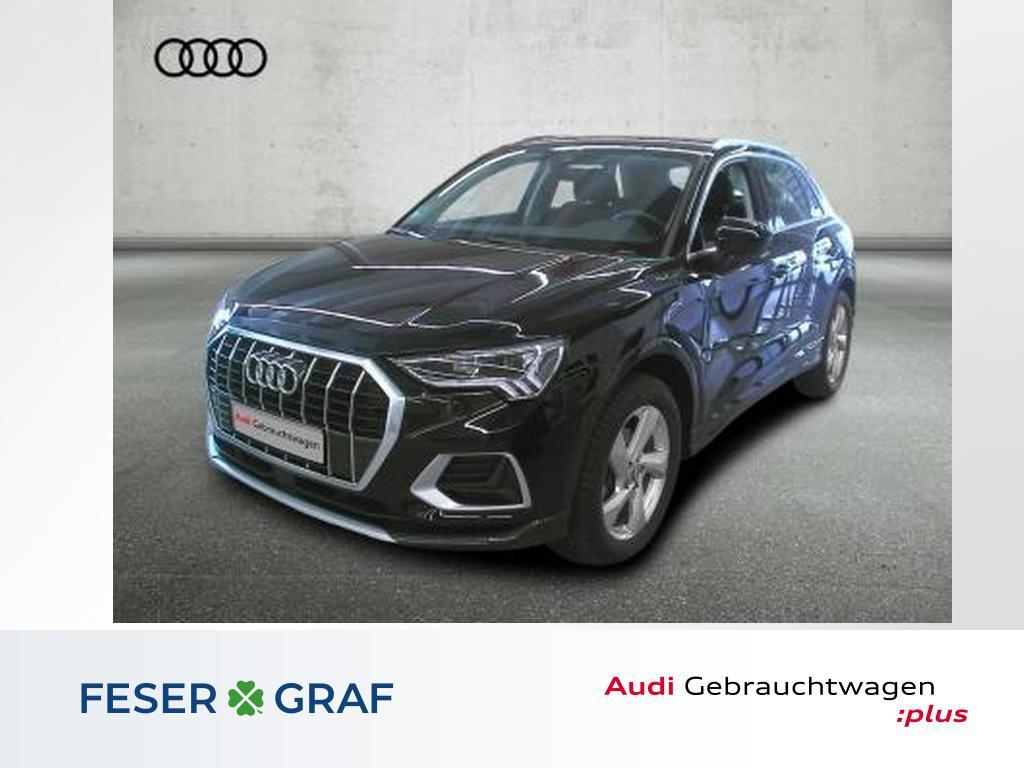 Audi Q3 adv. 35TFSI Navi/LED/AHK/Virtual/Standh/18 Zo, Jahr 2020, Benzin