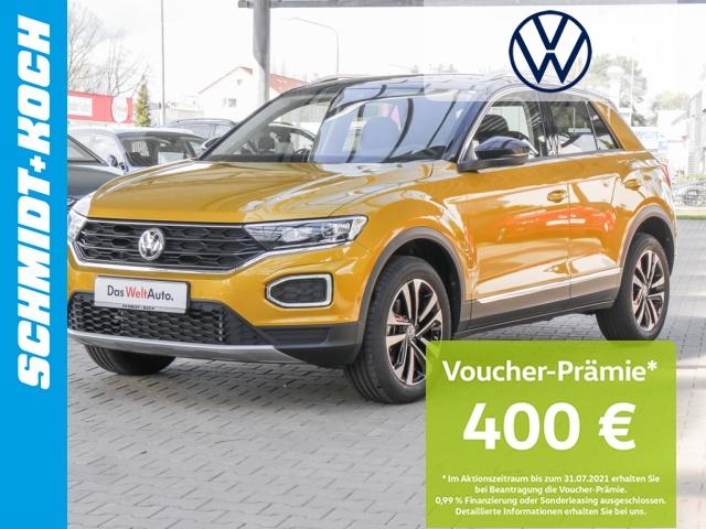 Volkswagen T-Roc 1.5 TSI OPF ACT DSG United NAVI AHK LED, Jahr 2020, Benzin