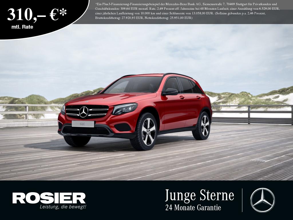 Mercedes-Benz GLC 220 d 4M Exclusive Night, Jahr 2018, Diesel