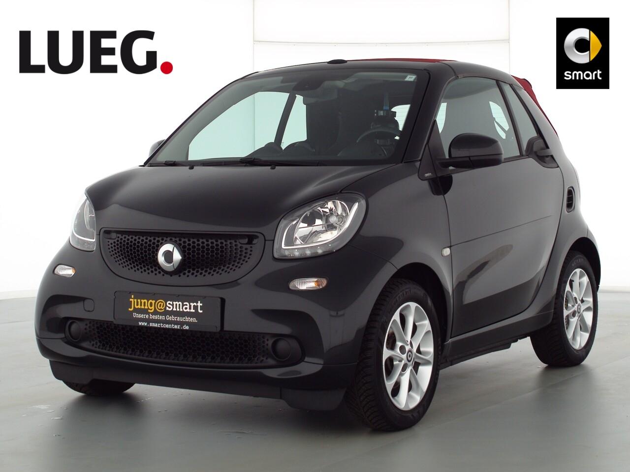 smart fortwo cabrio 66kW (90PS) passion Cool u. Audio, Jahr 2017, Benzin