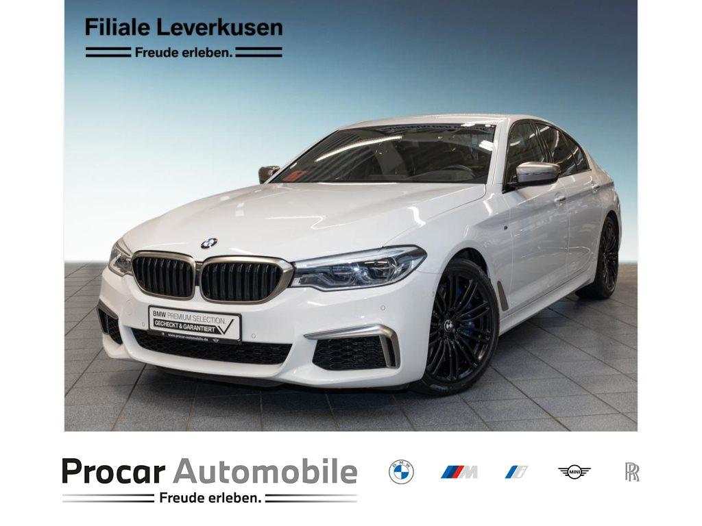 BMW M550i xDrive Head-Up HK HiFi LED WLAN RFK PDC, Jahr 2017, Benzin