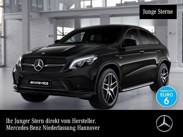 Mercedes-Benz GLE 450 AMG Cp. 4M AMG 360° Airmat Pano Harman, Jahr 2016, Benzin