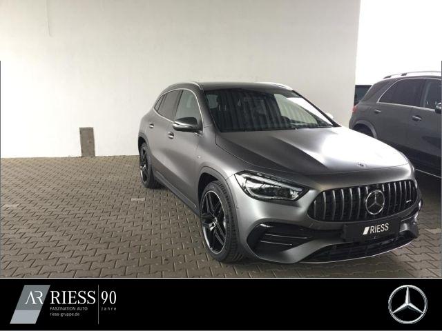 Mercedes-Benz GLA 35 AMG PANO+MULTIB+KAMERA+DISTR+EASYP+MEMORY, Jahr 2020, Benzin