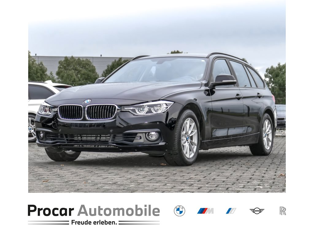 BMW 320i Touring Aut. Navi LED Klimaaut. RFK AHK, Jahr 2018, Benzin