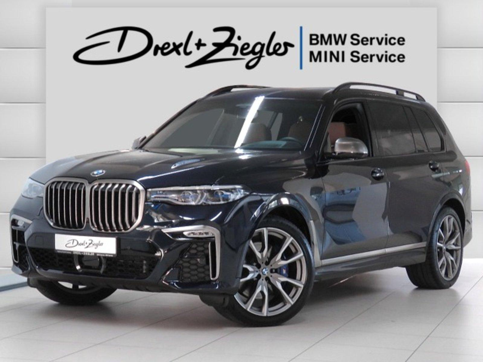 BMW X7 M50d 6-Sitz SkyLounge AHK HUD Laser SCA Alu22, Jahr 2020, Diesel