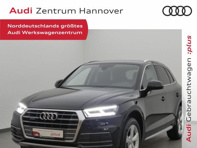 Audi Q5 2.0 TDI sport virtual AHL LED Alcantara, Jahr 2018, Diesel