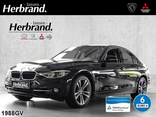 BMW 330d Automatik Sport LED+NAVI+bis 60MonGarantie, Jahr 2017, Diesel