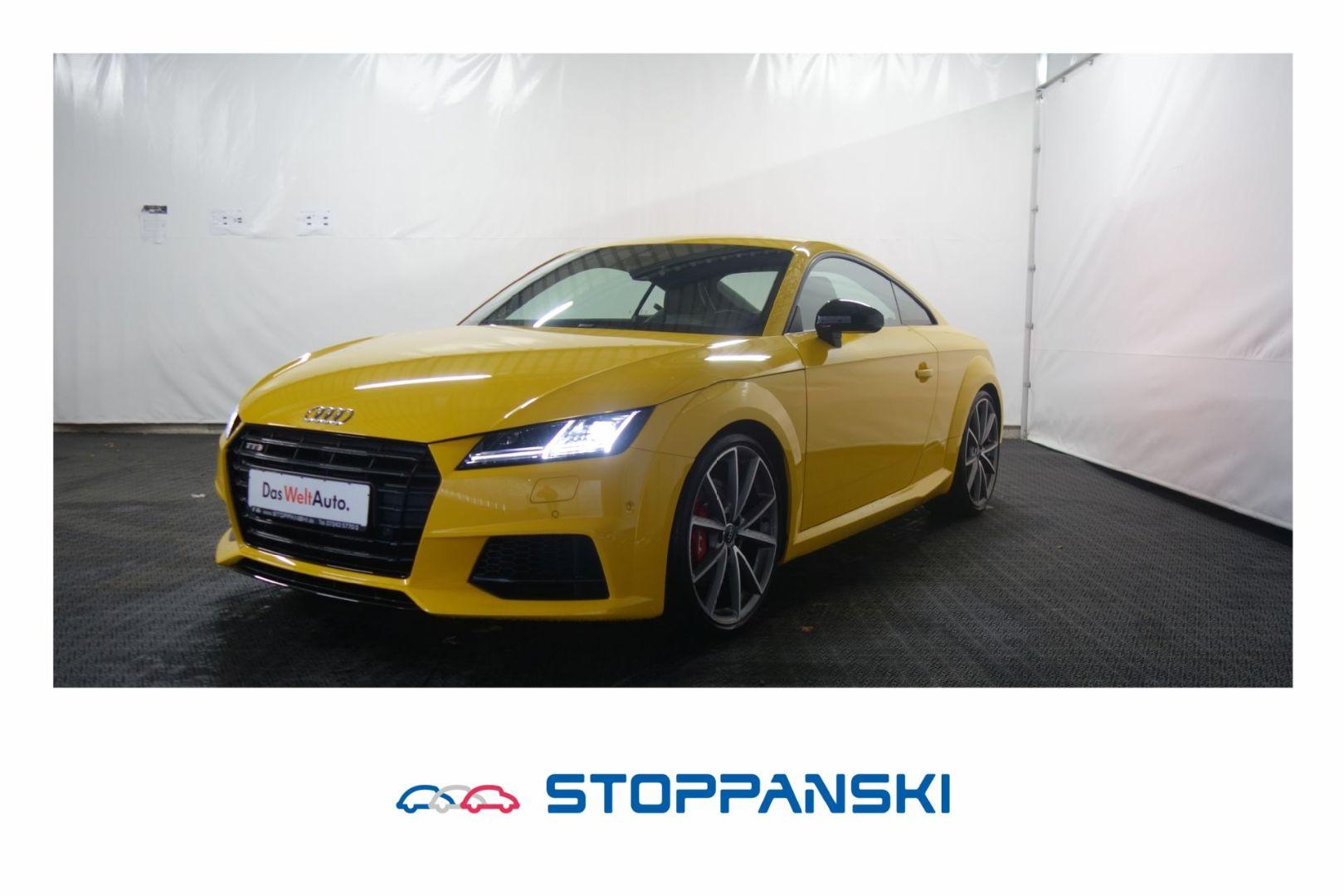 Audi TTS Coupé 2.0 TFSI quattro S-Tronic LED B+O LEDE, Jahr 2018, Benzin