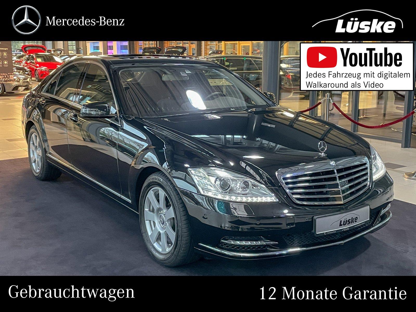 Mercedes-Benz S 350 BT Harman Nachtsicht DISTRONIC Schiebedach, Jahr 2013, Diesel