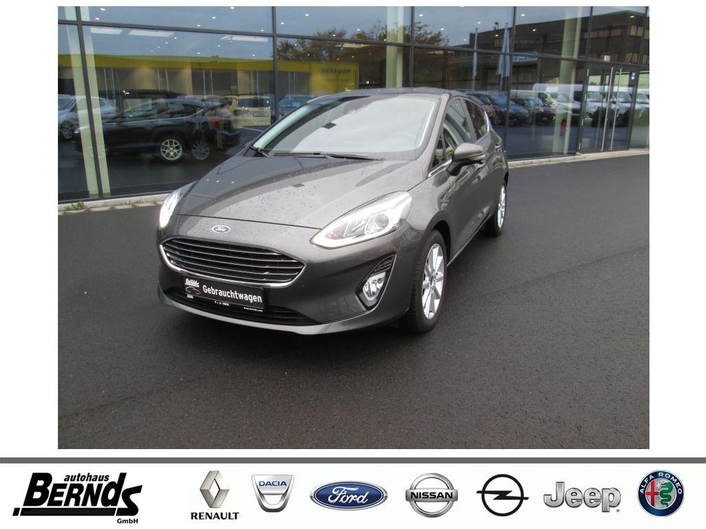 Ford Fiesta 1.0 EcoBoost S&S COOL&CONNECT NAVI W-Pkt., Jahr 2020, Benzin