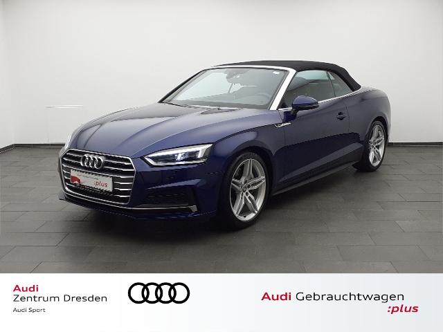 Audi A5 Cabriolet 2.0 TFSI S-line/ Matrix LED, Jahr 2018, Benzin
