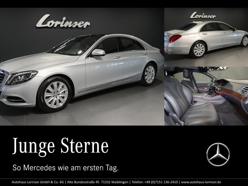 Mercedes-Benz S 500 4M DISTRONIC/PANO/360°/SITZKLIMA/KEYLESS, Jahr 2016, Benzin