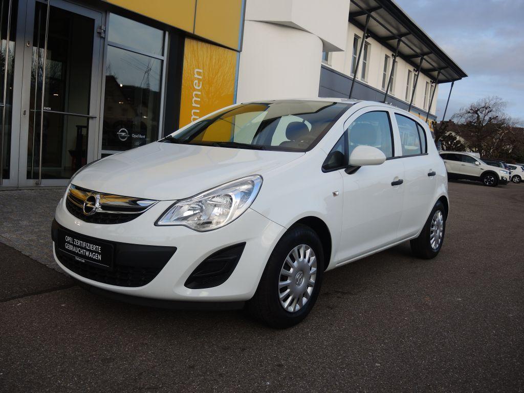 Opel Corsa 1.2 16V (ecoFLEX) Selection*KLIMA**RADIO*, Jahr 2013, Benzin
