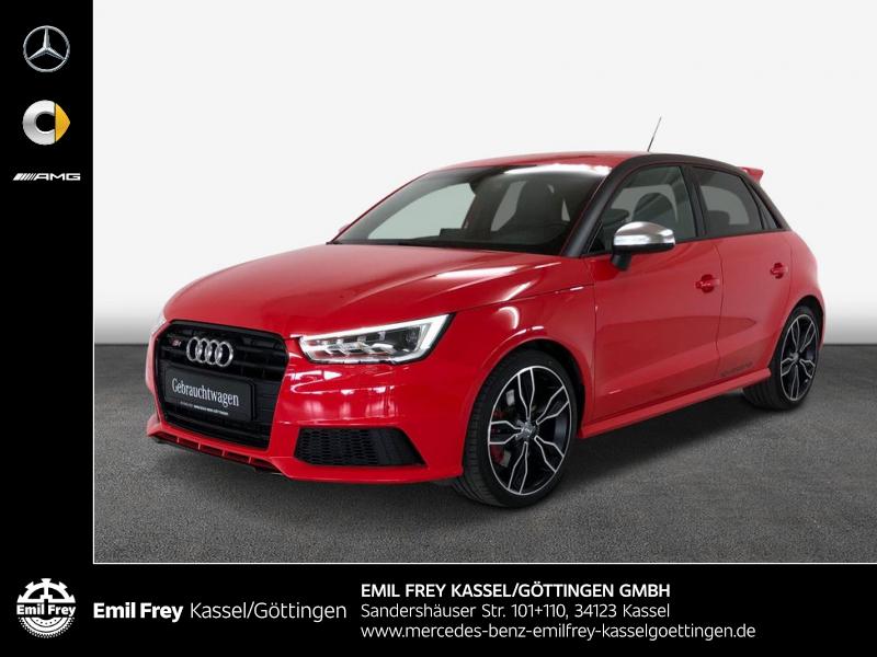 Audi S1 Sportback+Navi MMI+Sound+Einparkh+Bluetooth, Jahr 2016, Benzin