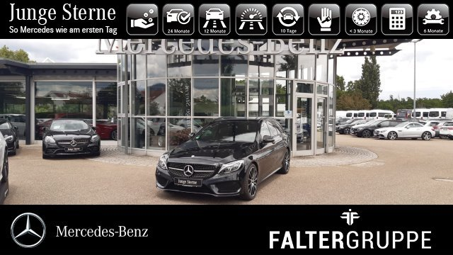 Mercedes-Benz C 450 AMG T Night Comand Pano Burme Kamera Busin, Jahr 2016, Benzin