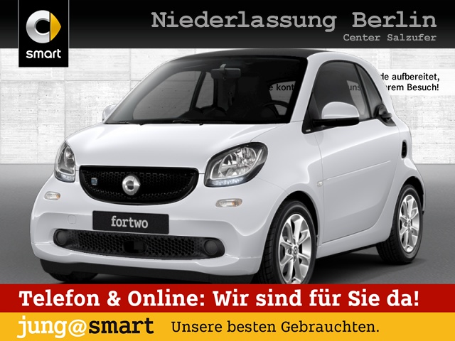 smart fortwo coupé 60kWed passion cool&Media SHZ, Jahr 2018, Elektro