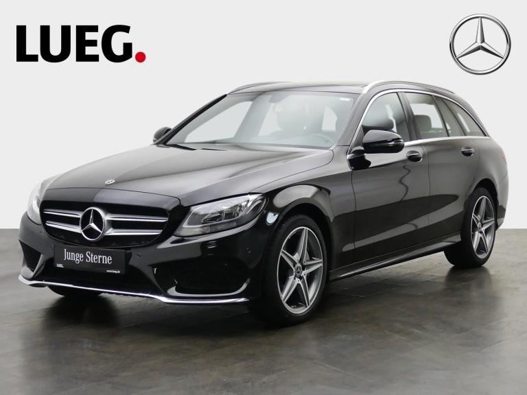Mercedes-Benz C 200 d T AMG+Navi+PanoDach+Totw+SHZ+elHeckk+PTS, Jahr 2018, Diesel