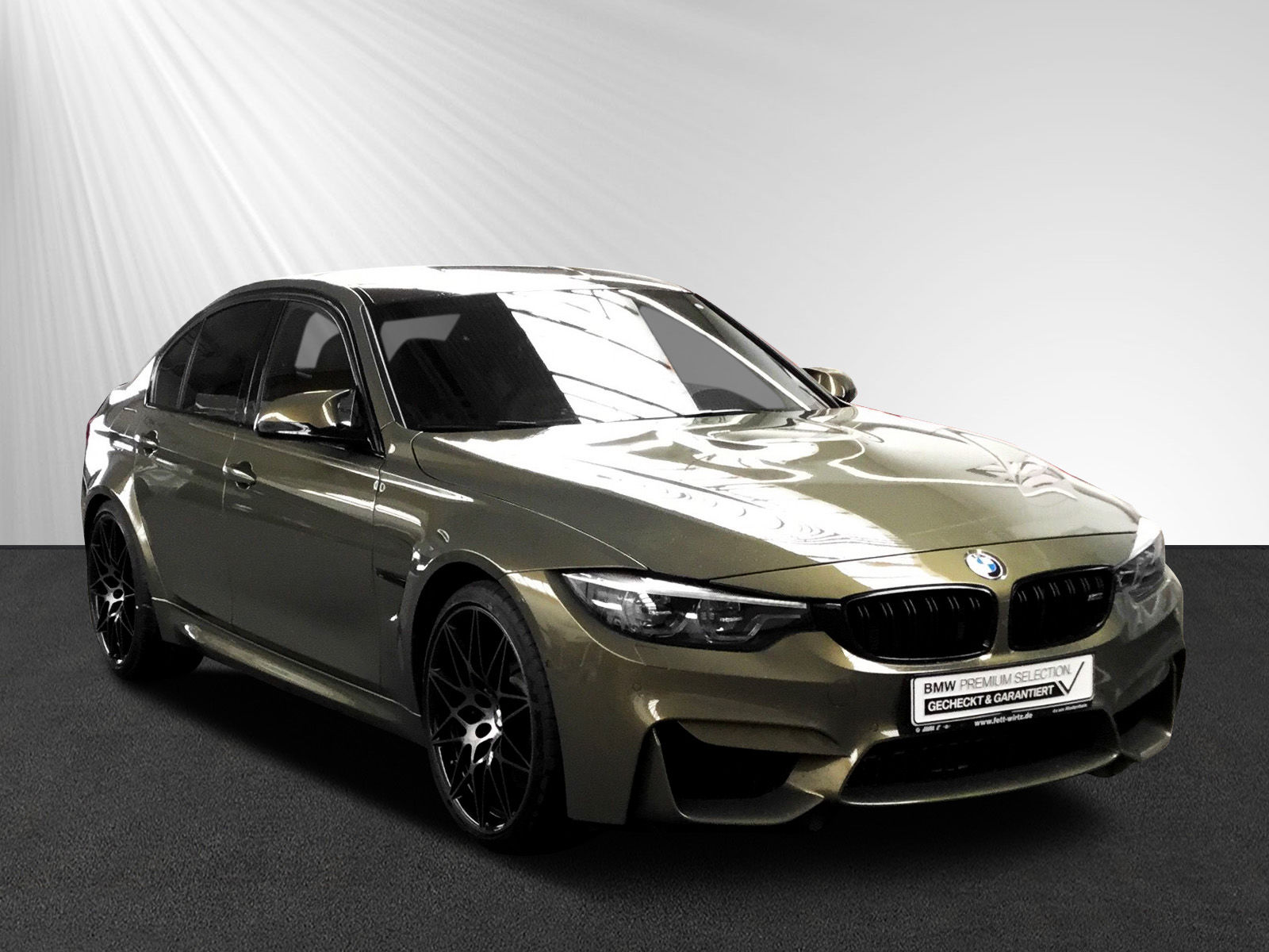 BMW M3 Competition DKG Individual Messing HUD HK LED, Jahr 2018, petrol