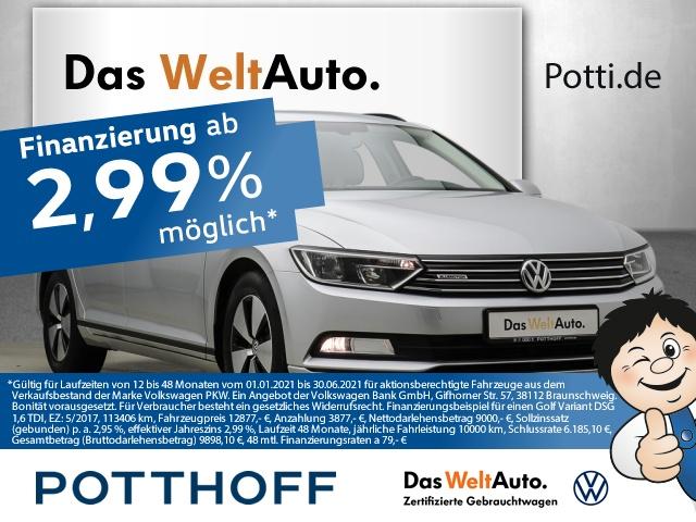 Volkswagen Passat Variant 1.6 TDI BlueMotion Business Winterp, Jahr 2016, Diesel