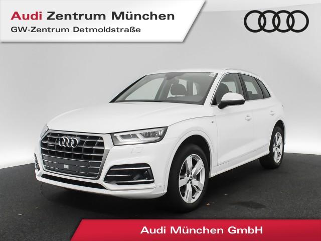 Audi Q5 2.0 TDI qu. Sport S line AHK LED Navi Assistenz R-Kamera S tronic, Jahr 2018, Diesel