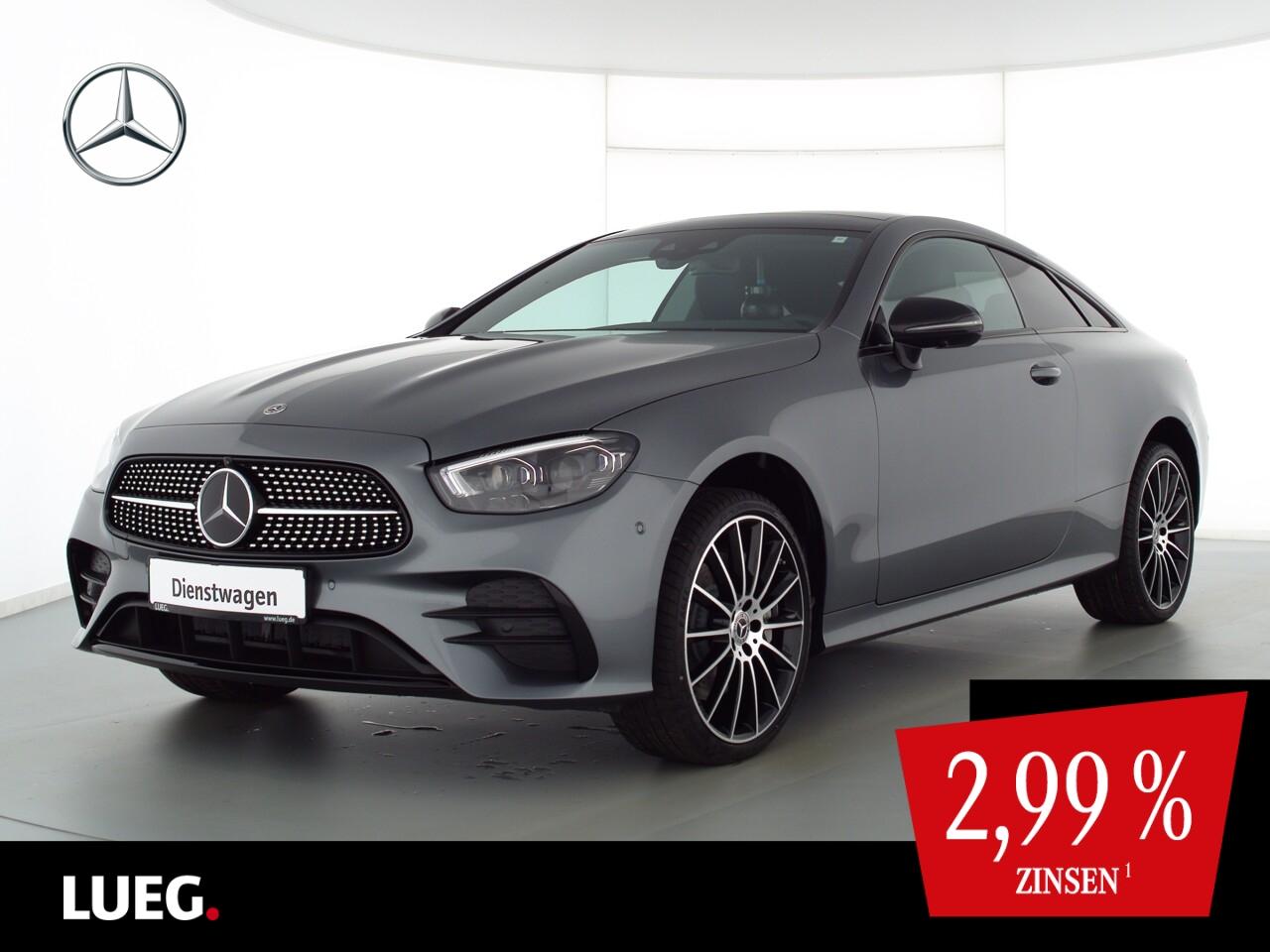 Mercedes-Benz E 450 4M Coupé AMG+20''+AIRMAT+STDHZG+PANO+360°, Jahr 2021, Benzin
