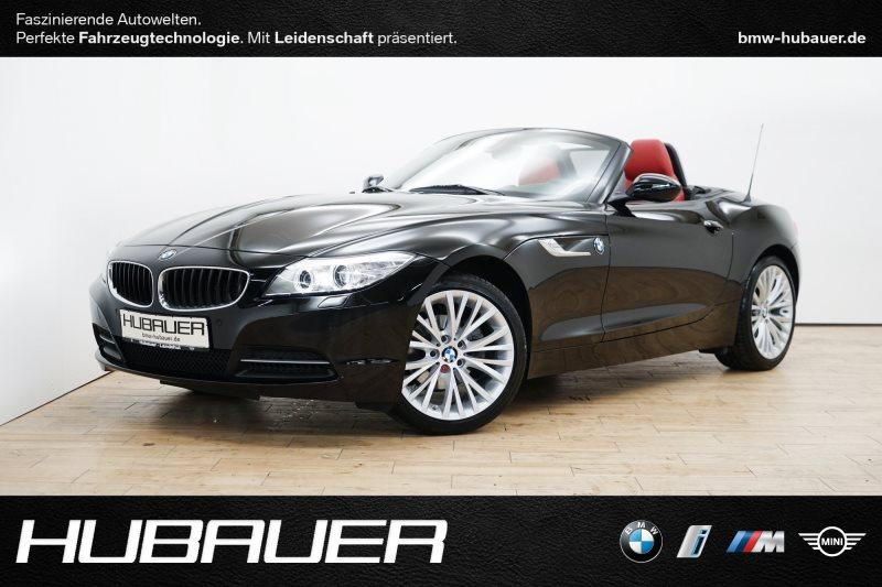 BMW Z4 sDrive18i [HiFi, SHZ, PDC, Klimaautomatik], Jahr 2016, petrol