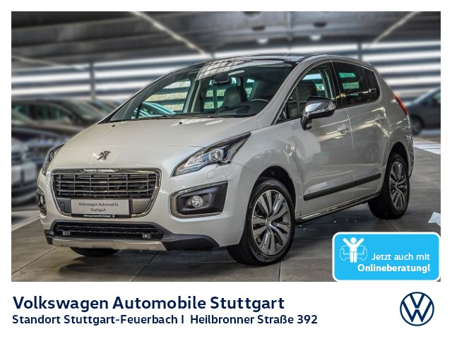 Peugeot 3008 1.6 THP 165 Allure Navi Tempomat, Jahr 2016, Benzin