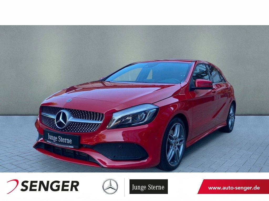 Mercedes-Benz A 250 *AMG*Exklusiv*LED*Navi*Kamera*Parktronic, Jahr 2018, Benzin