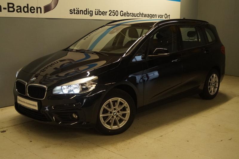 BMW 216i Gran Tourer Advantage Klimaaut. PDC NSW Sitzheizung, Jahr 2016, Benzin