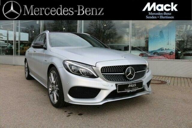 Mercedes-Benz C 450 AMG T 4Matic *DISTRONIC*Pano.*LED*Designo, Jahr 2016, Benzin