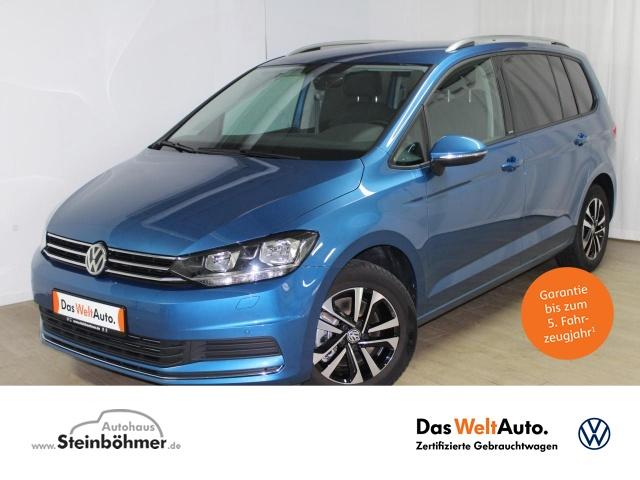 Volkswagen Touran United 2.0TDI AHK 7-S Navi AppCon Sitzhz., Jahr 2020, Diesel